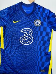 2021-22 Chelsea Fc Menandrsquos Home Soccer Jersey For Adult