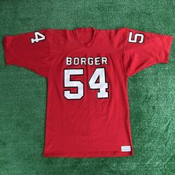 Vintage Rare 1970's Sand Knit Jersey Tampa Bay Buccaneers Borger Sand Knit L