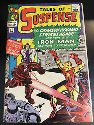Tales Of Suspense #52 gorgeous 7.0 first black widow