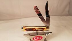 Case Xx 1940-50 First Model Stag 5254 Trapper Knife Red Stag