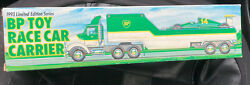Bp Toy Race Car Carrier Vintage 1993 Truck Trailer Limited Edition Series Sealed