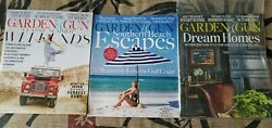 Garden And Gun Magazine Lot Of 3 Issues Gulf Coast Tennessee Southern Homes