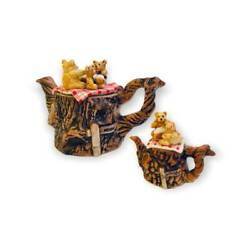 Teddy Bears Picnic Teapots By Paul Cardew Limited Edition Collectible English
