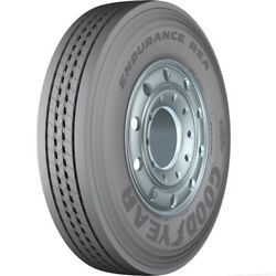 4 Tires Goodyear Endurance Rsa 255/70r22.5 Load H 16 Ply Steer Commercial
