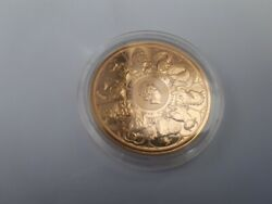 2021 Uk Queenand039s Beasts Completer 1oz Gold Coin Lion Bull Horse Yale Falcon