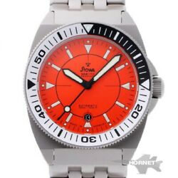 Stowa Seatime Professional Pro Diver Automatic Orange Dial Menand039s Watch From Jp