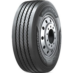 2 Tires Hankook Smart Flex Th31 255/70r22.5 Load H 16 Ply Trailer Commercial