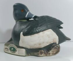 1992 Regal China Jim Beam Ducks Unlimited Ring-necked Duck Decanter