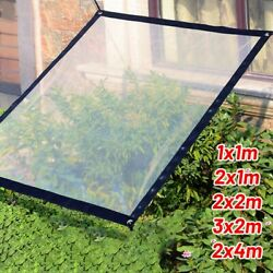 Accessory Tarpaulin Elements Transparent With Eyelets Camping Suitable