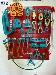Set72 Heavy Duty Auto Body Frame Machine 25 Piece Pulling Tools And Clamps