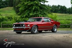 1969 Ford Mustang Mach 1 428 Cobra Jet 1968 1970 302 351 390 Gt Shelby Boss Coupe 4 Speed Manual Big Block Pro Touring