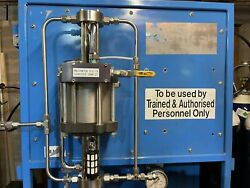 Maximator Dle 15 Double Acting Gas Booster In Oxygen Service Big Flow Rate