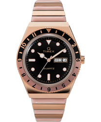Timex Q 38mm Rose Gold-pink Expansion Band Womens Watch Tw2u81400