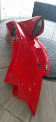 Kawasaki Left Hand Side Cover Red Ultra 250x 260x 260xl Lx Oem 14091-3780-h1