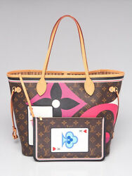 Louis Vuitton Rouge Monogram Canvas Game On Neverfull Mm Nm Bag