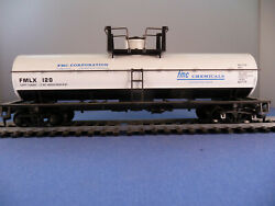 Fmc 40' Single Dome Chemical Tanker--athearn 410- Mint In Box-free Ship