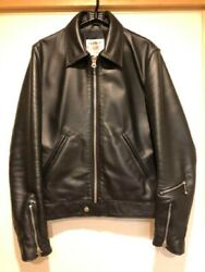 Lewis Leathers Corsair Tight Fit Size 36 Cowhide Leather Jacket Custom Japan
