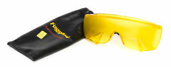Foggles Brand Fog Simulating Flight Goggles Yellow Shade With Glasses Pouch
