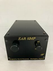 Ear 834p Mm Turntable Phono Pre-amplifier With Volume Control - Black - Used