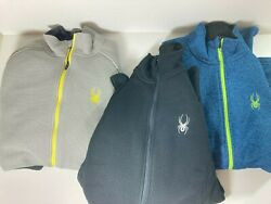 Spyder Menand039s Foremost Full Zip Heavyweight Core Knit 1302142 Pick Size And Color