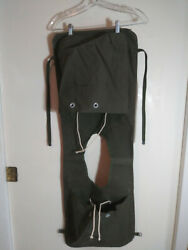 Usmc Us Army Korean War M-3 Ammunition Carry Bag Over The Head Front And Back