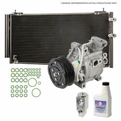For Honda Civic 2006-2011 A/c Kit W/ Ac Compressor Condenser And Drier Tcp