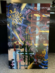 Large Abstract Painting/wall Decor