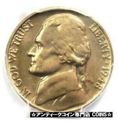 Silver Gold Antique Coins 1948 Jefferson Nickel 5c Coin Pcgs 8602