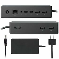 Rb Microsoft Surface Dock Pf3-00005 Pro 3 4 5 6 7 Book Compatible W/ Ac