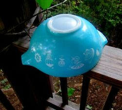 Pyrex Balloon Bowl, Large 444 Size, For Chip And Dip Set