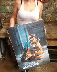 Vintage Battlestar Galactica Poster-1978 Boxey And The Daggit  20 X 28