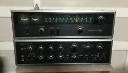 Sansui Integrated Amplifier Au-9500 And Matching Tuner Tu-9500- Nice