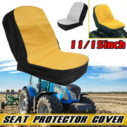 Riding Lawn Mower Seat Cover Waterproof Dustproof Tractor Cushion Cover New