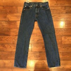 501 Button-fly Jeans 30x32 31x31.5 Gently Used Strong Denim