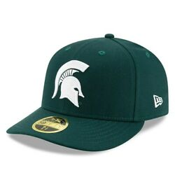 Michigan State Spartans New Era Basic Low Profile 59fifty Fitted Hat - Green