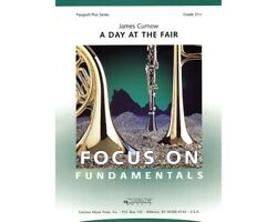 A Day At The Fair Grade 2.5 - Score And Parts Concert Band By James Curnow