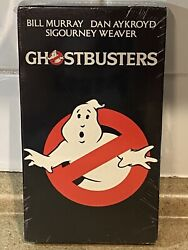Vintage 1994 Ghostbusters Vhs Factory Sealed Columbia Pictures