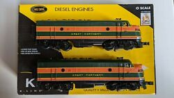 K-line K25332 Great Northern F7 Aa Set W/lionel Tmcc Cruise Control O Scale