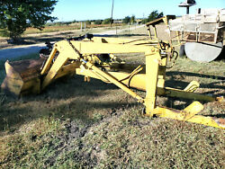 Ford 4400 Industrial Tractor Front Loader