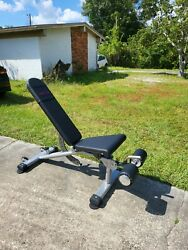 Tuff Stuff Commercial Adjustable Weight Bench