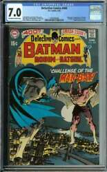 Detective Comics 400 Cgc 7.0 Ow/wh Pages // 1st Appearance Of Man-bat 1970
