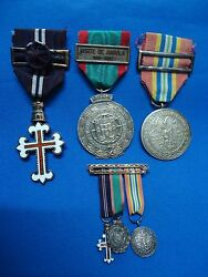 Portugal Portuguese Angola Military Army Africa War Group Medal Medals