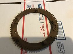 Indian Motorcycle Scout, Corbin Brown Speedometer Drive Ring Gear. 72 Tooth,