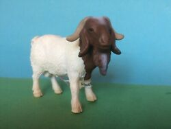 Schleich 13258 Farm Animal Figure Boer Billy Goat Male - Retired - With Tag