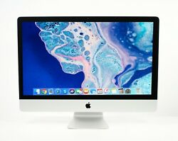 Maxed 2019 27 5k Apple Imac 3.7ghz - 4.6ghz 6-core I5 + 4tb Ssd And Up To 128gb