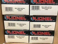 Lionel O Scale New York Central 6 Unit Lot 6-16016 To 6-16021 Train New 4a