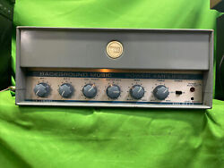 Western Electric / 3m Company Background Music Power Tube Amplifier Mint Con.🔥