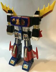 Clover Action Figure Chogokin Unrivaled Robot Trider G7 From Japan Retro Novelty