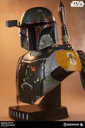 11 Sideshow Collectibles Star Wars Boba Fett Life Size Bust Figure Statue