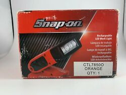Snap-on Ctl7850 Rechargeable Led Work Light Open Box Free Shipping